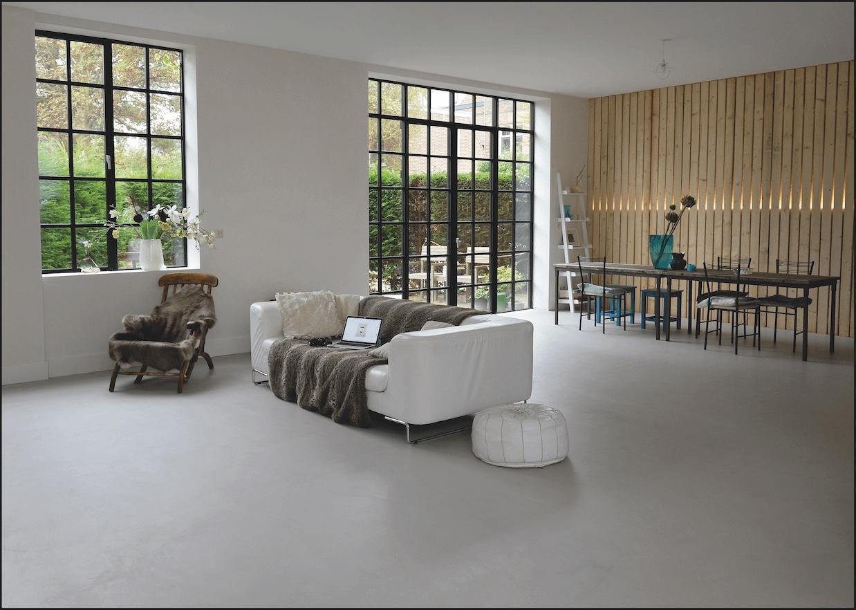 bodenbel ge l beck beton optik und korkb den. Black Bedroom Furniture Sets. Home Design Ideas